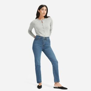 Everlane Authentic High-Rise Cigarette Jean
